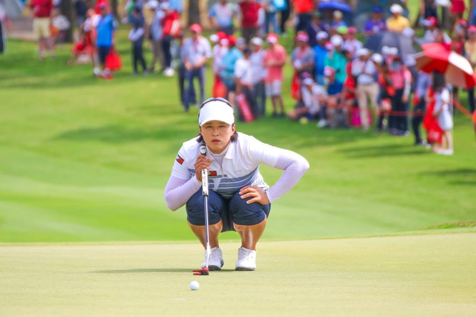 Female Golfer at Pattaya's LPGA Event 2019