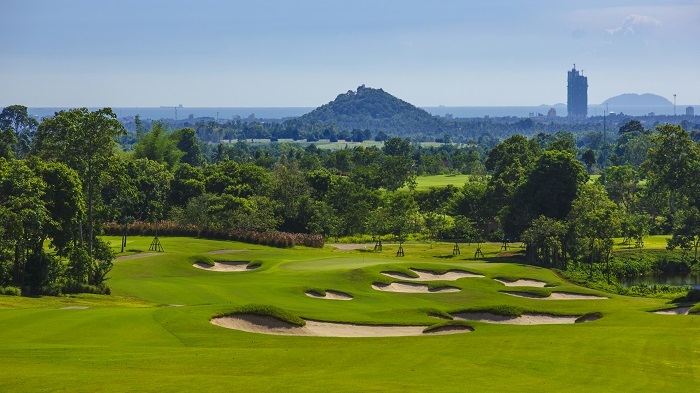 Golf course in Pattaya