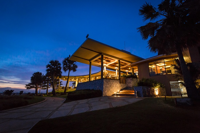 Clubhouses in Siam country club Pattaya