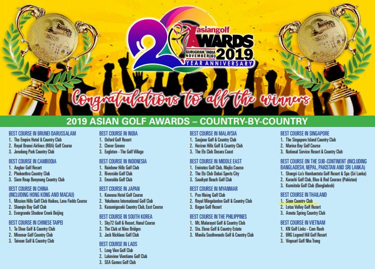 Best Course in Thailand