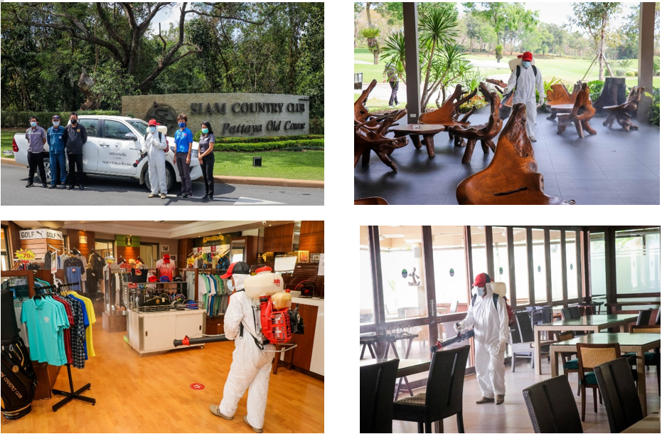 Siam Country Club : Big Cleaning