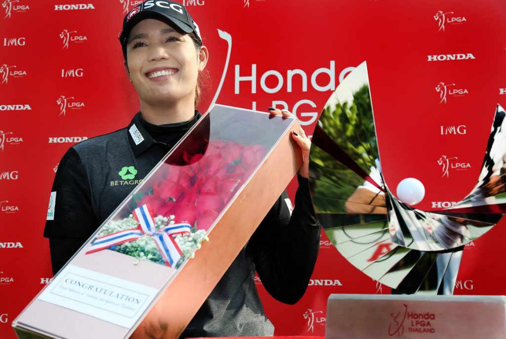 Honda LPGA Thailand 2021 Winner : Ariya Jutanugarn